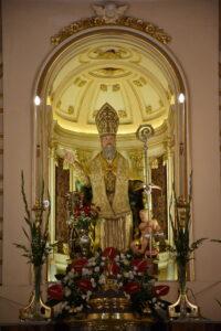 Statua di Sant'Antonio Abate a Pedara