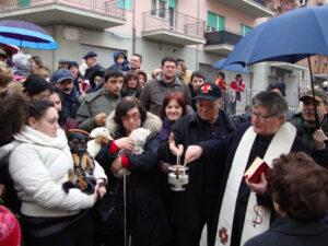 Festa di Sant'Antonio Abate a Campobasso - Benedizione degli animali