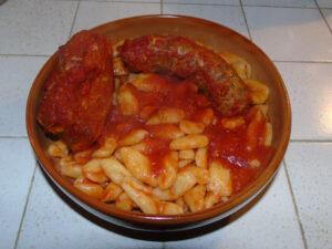 Festa di Sant'Antonio Abate a Campobasso - Cavatelli e carne di maiale