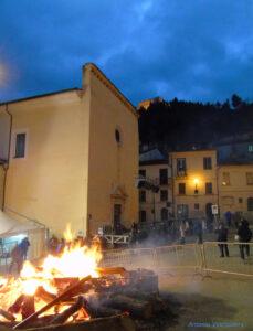 Festa di Sant'Antonio Abate a Campobasso - Fuoco