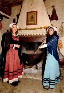 Festa di Sant'Antonio Abate a Collelongo - Costume