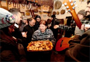 Festa di Sant'Antonio Abate a Collelongo - Cuttora