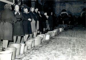 Festa di Sant'Antonio Abate a Collelongo - Foto storica
