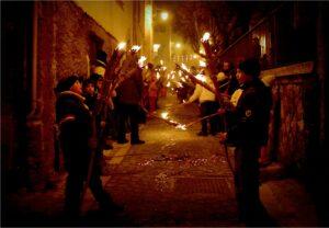 Festa di Sant'Antonio Abate a Collelongo - Torcette