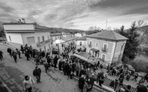 Le farchie- Festa di Sant'Antonio Abate a Fara Filiorum Petri - Foto di Albero Paolucci