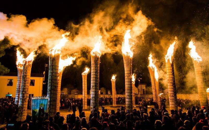 Festa di SantAntonio Abate a Fara Filiorum Petri Foto di Romano Paolini