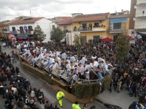 Festa di Sant'Antonio Abate a Macerata Campania - La sfilata dei Carri di Sant'Antuono