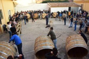 Festa di Sant'Antonio Abate a Macerata Campania - Le prove delle Battuglie di Pastellessa