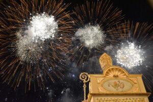Festa di Sant'Antonio Abate a Pedara - Fuochi pirotecnici