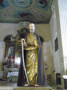 Statua di Sant'Antonio Abate a Campobasso