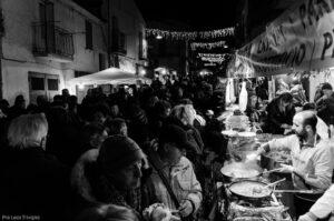 Festa di Sant'Antonio Abate a Trivigno - Cibo