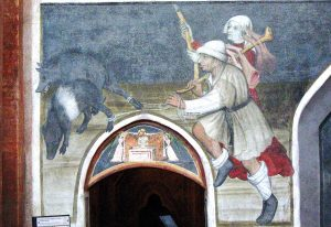 Precettoria di Sant'Antonio di Ranverso - Particolare dell'opera di Giacomo Jaquerio