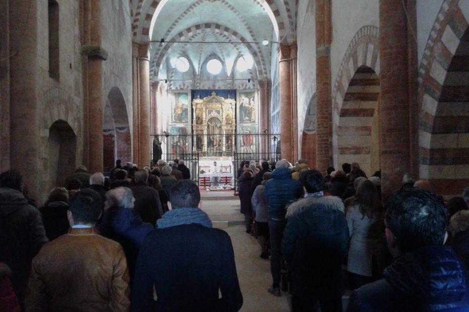 Precettoria di SantAntonio di Ranverso Santa Messa del 17 gennaio