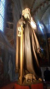 Precettoria di Sant'Antonio di Ranverso - Statua di Sant'Antonio Abate