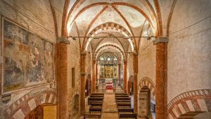 Chiesa Abbaziale della Precettoria di Sant'Antonio di Ranverso (interno)
