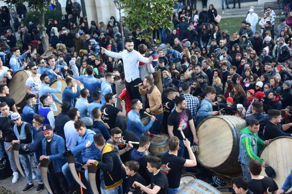Festa di Sant'Antonio Abate a Macerata Campania - I bottari di Macerata Campania