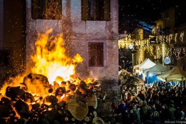 Festa di Sant'Antonio Abate a Trivigno