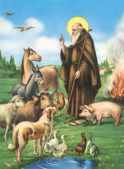 Iconografia di Sant'Antonio Abate